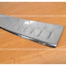 Защитная накладка поверхности заднего бампера Пассат Б6 универсал