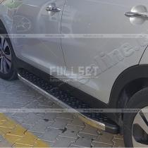 Подножки алюминиевые Honda CR-V (2012-...)