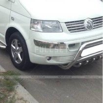 Накладки на углы бампера Volkswagen Transporter T5 (04-09)