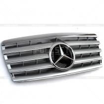 Решетка радиатора с логотипом Mercedes W124 (86-95)