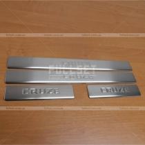 Порожки в салон Chevrolet Cruze (09-13)