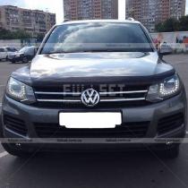 Мухобойка на капот Volkswagen Touareg (2010-...)