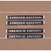 Эмблемы Limited, Premium Edition