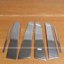 Накладки на стойки Kia Sportage (2010-...)