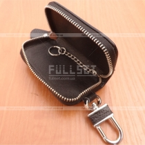 Кожаный чехол для ключей размер: 8 см, на 5 см, на 2 см