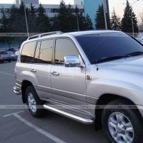 Накладки на зеркала с поворотами Toyota Land Cruiser 100 (98-07)