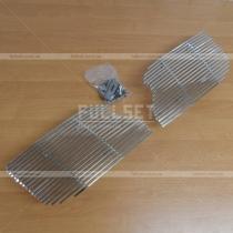 Накладка на решетку радиатора Toyota Prado 120 (03-09)