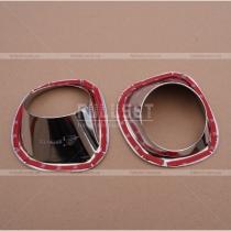 Накладки на передние противотуманки X-Trail (07-11)