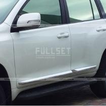 Молдинги дверей Toyota Prado 150 (2018-...)