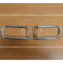 Накладки на противотуманки Toyota Prado 150 (08-12)