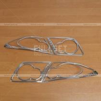 Накладки на задние фонари Mazda 6 (02-07)