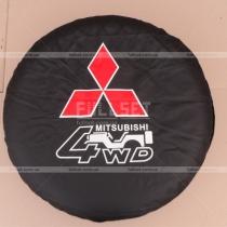 Чехол запаски кож зам Mitsubishi Pajero Wagon 3 (00-06)