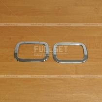 Накладки на задние противотуманки Mercedes Gelandewagen (90-15)