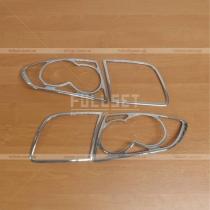 Накладки на заднюю оптику Mazda Mazda 3 (04-08)
