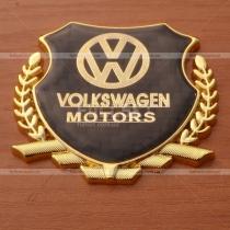 Декоративная эмблема герб с символикой марки автомобилей Volkswagen