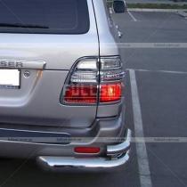 Накладки на задние фонари Toyota Land Cruiser 100 (98-07)