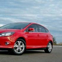 Молдинги стекол Ford Focus (2011-...)