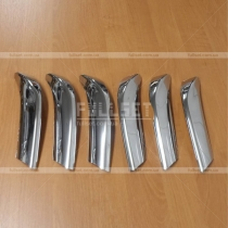 Хром накладки на решетку Toyota Prado 150 (08-12)