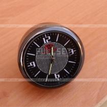 Часы сувенирные в темном стальном корпусе с эмблемой Kia (диаметр 4 см)