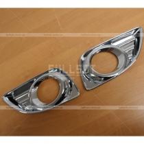 Накладки на противотуманки Toyota Camry v45 (10-12)