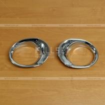 Хромированные вставки на переднюю противотуманную оптику