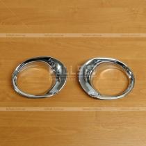 Накладки на противотуманные фары Honda CR-V (02-06)