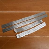 Порожки в салон Honda CR-V (07-12)