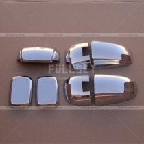 Накладки на петли багажника Kia Sorento (03-09)