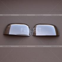 Накладки на зеркала Mitsubishi Outlander XL (07-12)