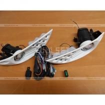 Противотуманные фары диодные Toyota Prado 120 (03-09)