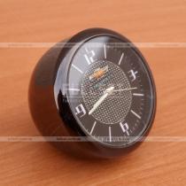 Часы стальные декоративные с эмблемой Шевроле (диаметр 4 см)