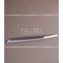 Хромированная накладка на нижнюю кромку переднего бампера Камри (15-17)