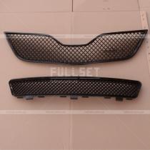 Решетка радиатора и бампера Toyota Camry v45 (10-12)