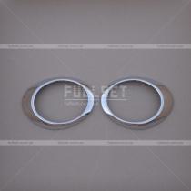 Накладки на противотуманные фары Subaru Forester (08-12)