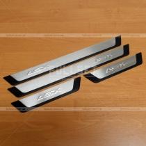 Порожки в салон Mitsubishi ASX (2010-...)