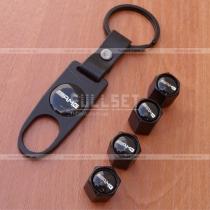 Колпачки на ниппеля AMG black