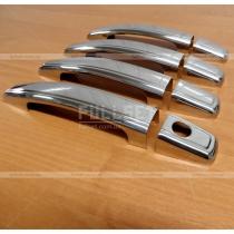 Декоративные хромированные накладки на ручки открывания дверей Astra H