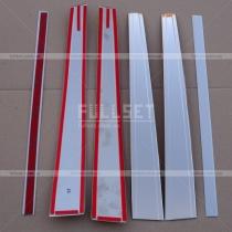 Хром накладки на стойки (высококачественная нержавеющая сталь)