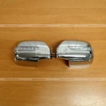 Хром-накладки зеркал с поворотами Lexus LX 470