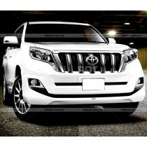 Юбка переднего бампера Toyota Prado 150 (2013-...)