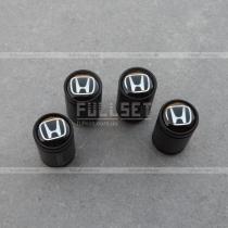 Колпачки на ниппеля Хонда черные