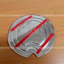 Декоративная металлическая накладка на лючок бензобака