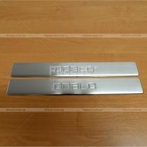 Накладки на пороги Fiat Doblo (2010-...)