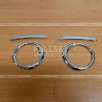 Накладки на противотуманные фары Fiat Doblo (2010-...)
