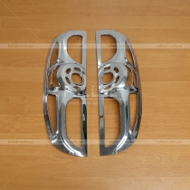 Накладки на задние фонари Fiat Doblo (2010-...)