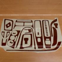 Декоративные накладки салона Fiat Doblo (2010-...)
