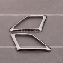 Окантовка динамиков на передних стойках Прадо 150