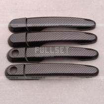 Карбоновые накладки ручек Hyundai Tucson (04-11)