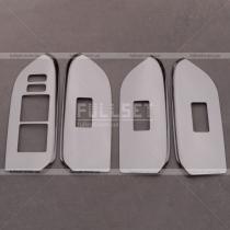 Накладки на блок стекло-подъемников Toyota Prado 150 (2018-...)