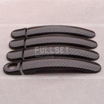 Накладки на ручки карбон Skoda Octavia A4 (98-06)